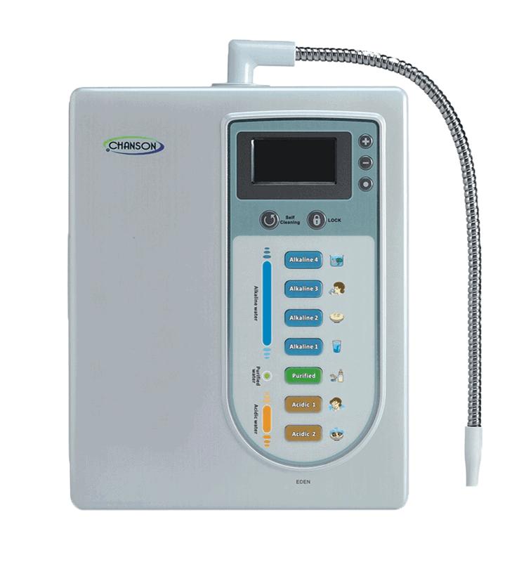 Chanson Eden ioniseringsmaskine- for 2018 i balance