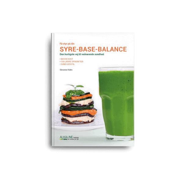 Simonne Holms nye bog: Få styr på din syre-base-balance: den hurtigste vej til vedvarende sundhed