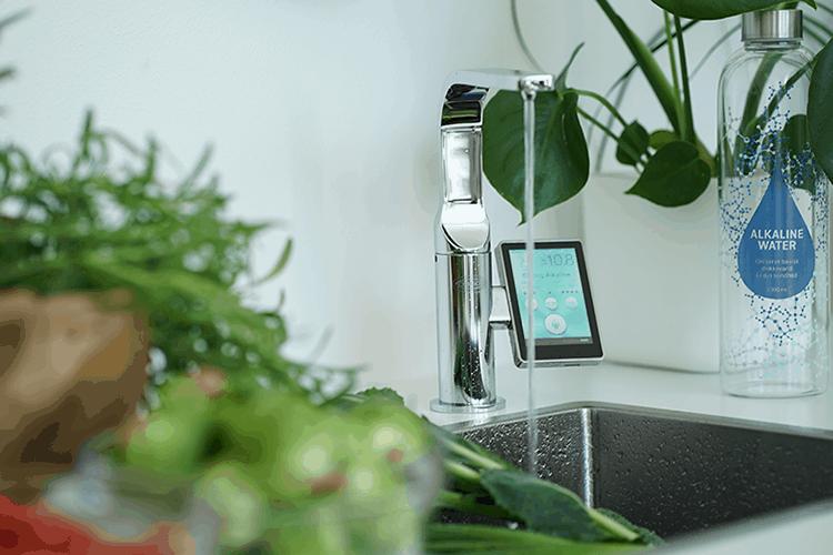 filtreringssystemer Basisk ioniseret vand