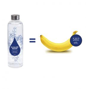 Antioxidanter bananer sammenlignet med 1 liter Chanson vand